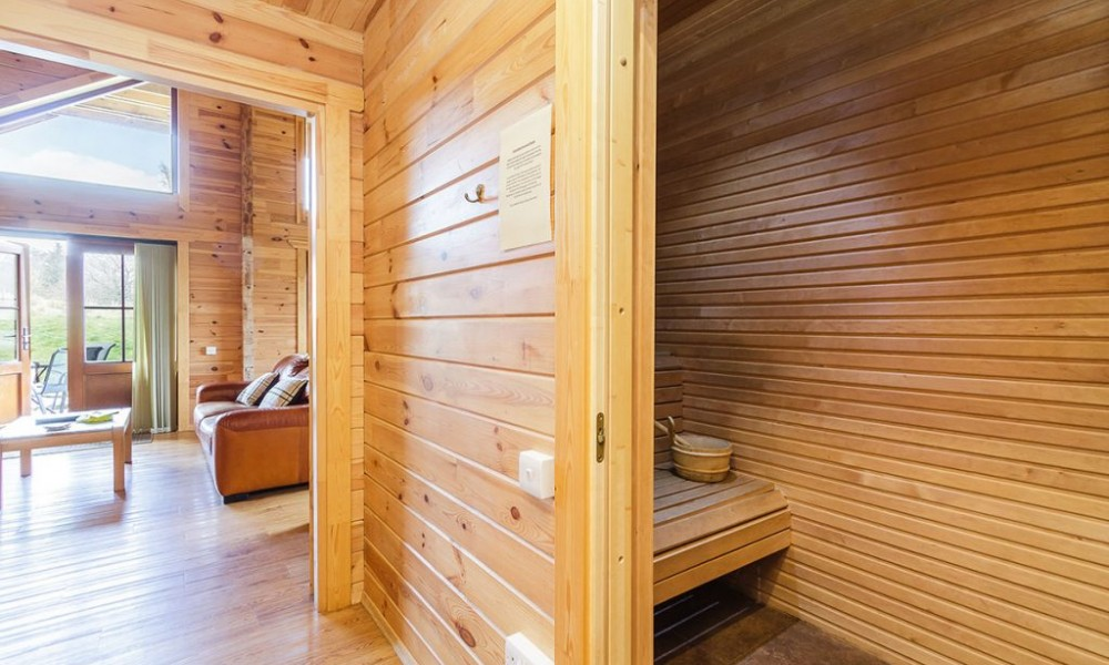 Accommodation - Luxury Lodges with Hot Tubs - 2 bedroom lodge - sauna