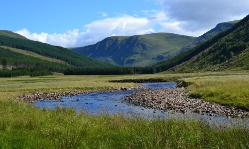 Scenery at Glen Clova - Bachnagairn - credit to Michele Brough