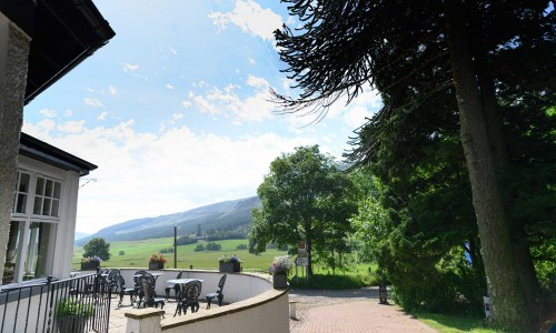 Glen Clova Hotel - External View