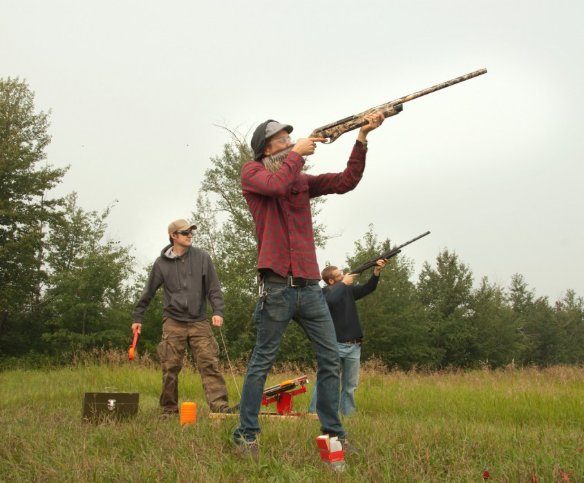 Adventures Clay Pigeon Shoot Target Practise
