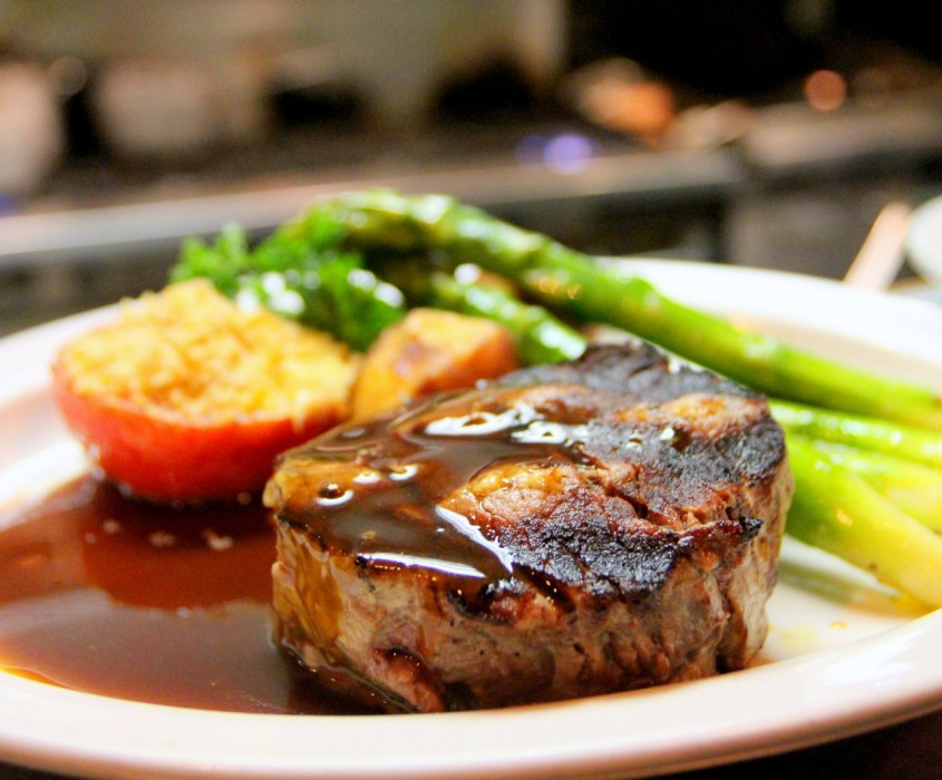Canva Selective Focus Photography of Beef Steak With Sauce
