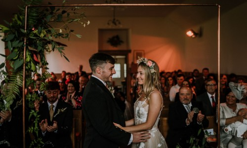 "Saying ""I do"" at the kirk - https://burfly.co.uk/"
